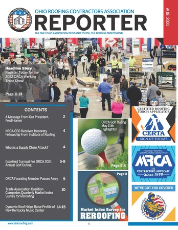 ORCA AUG21 Newsletter Cover